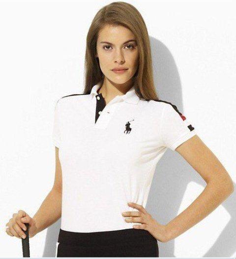 beyaz polo t shirt modeli