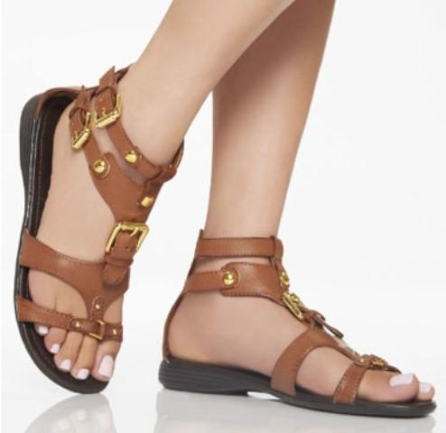 deri sandalet modeli