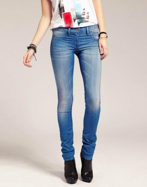 diesel mavi kot pantolon modeli