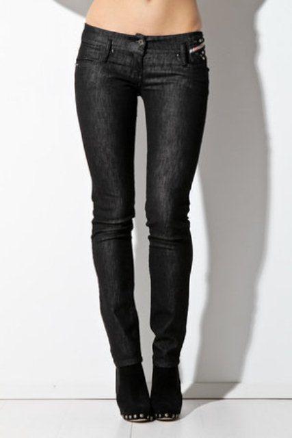 diesel siyah kot pantolon modelleri