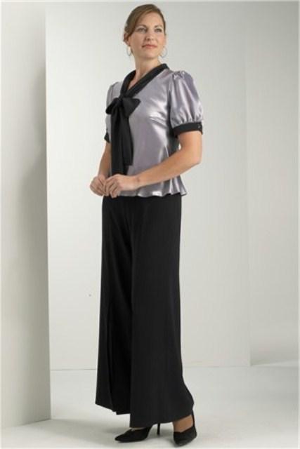 en moda abiye bluz modeli