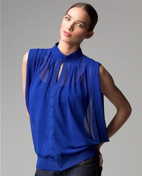 gece mavisi bluzler
