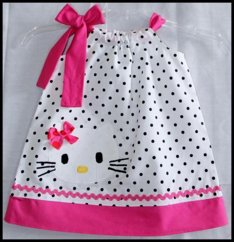 hello kittyli elbise modeli