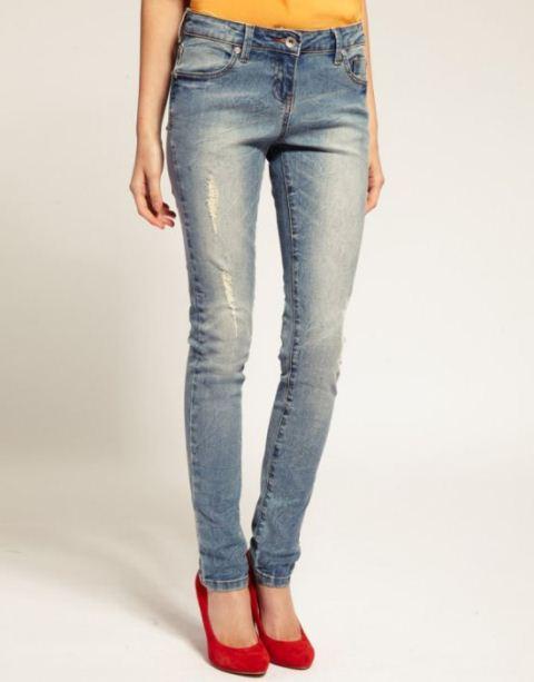 mavi jeans dar kesim kot
