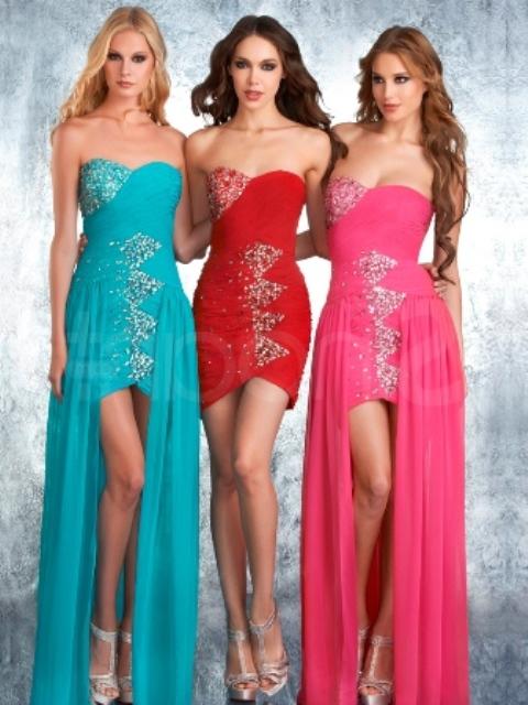 pastel renklerde abiye elbiseleri