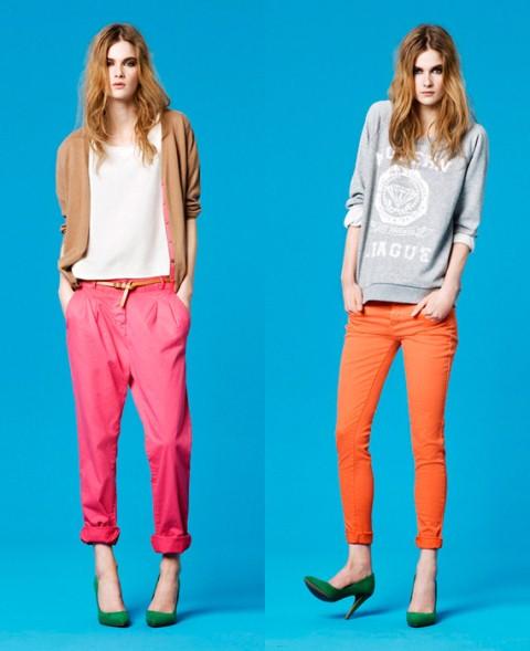 rengarenk pantolonlar