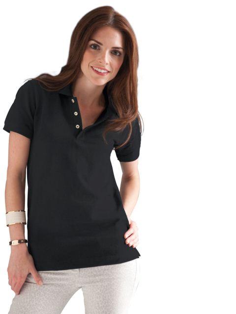 siyah polo t shirt modeli