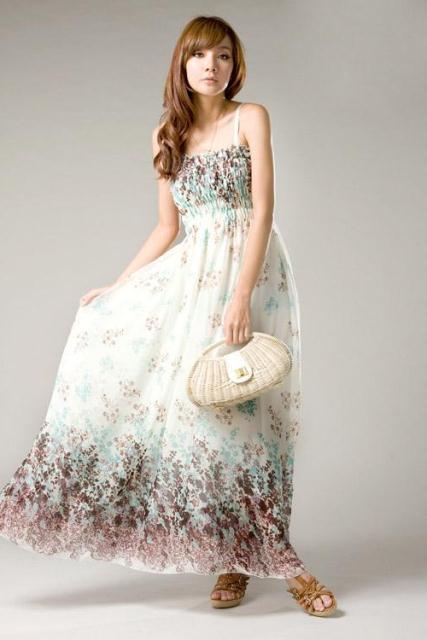 en trend uzun elbise modelleri