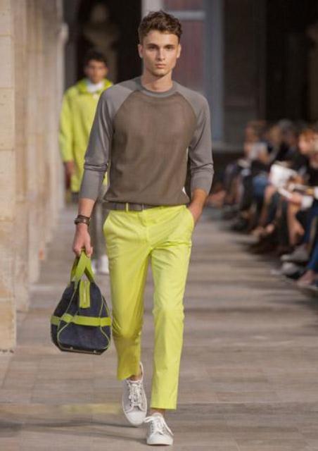 erkek renkli pantolon