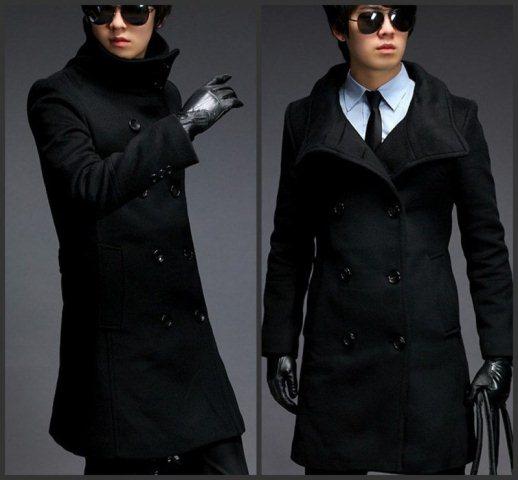 erkek uzun boy paltosu