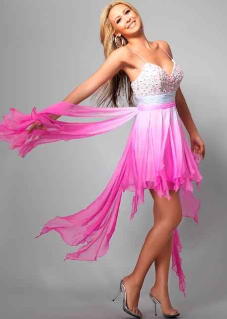 neon renklerde abiye elbiseler