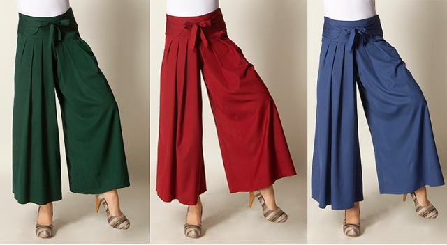 renkli pantolon etekler