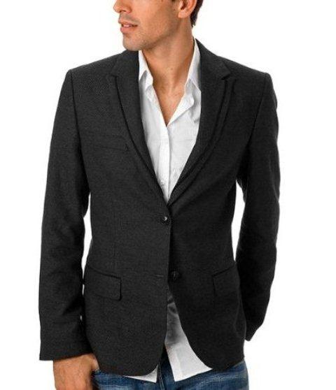 siyah erkek blazer ceket modeli