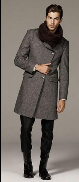 zara erkek boy paltosu