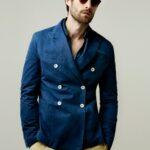 zara erkek mavi ceket