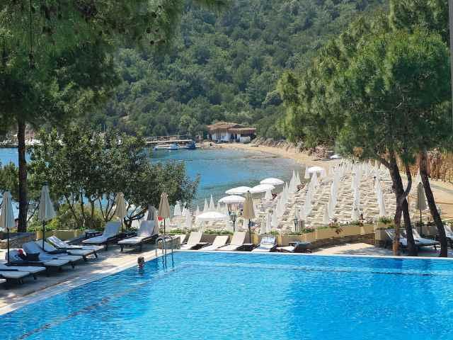 bodrum park resort havuz