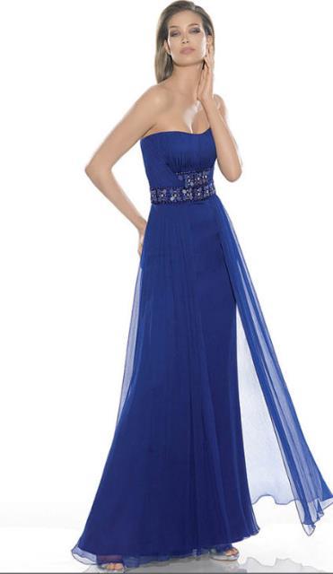 gece mavisi elbiseler