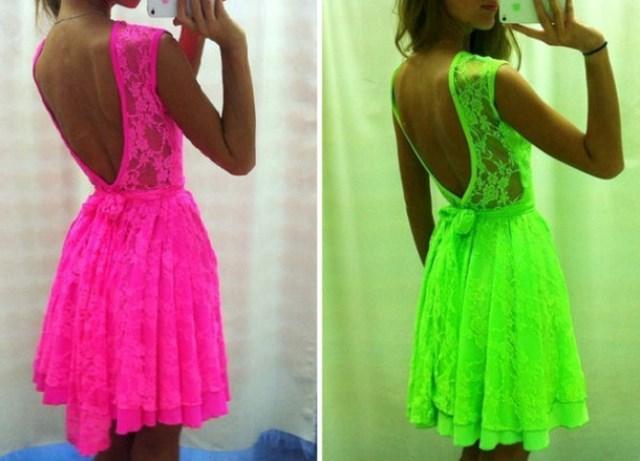 neon elbiseler