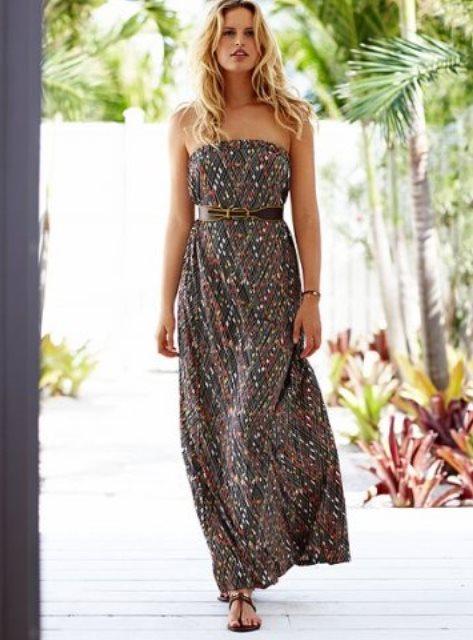 straplez uzun elbise