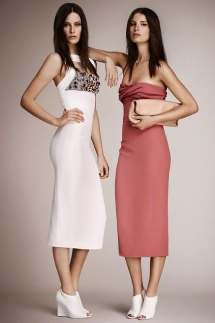 burberry 2014  gece elbisesi modelleri