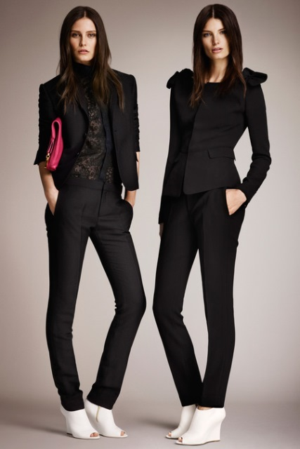 burberry skinny pantolon modeli