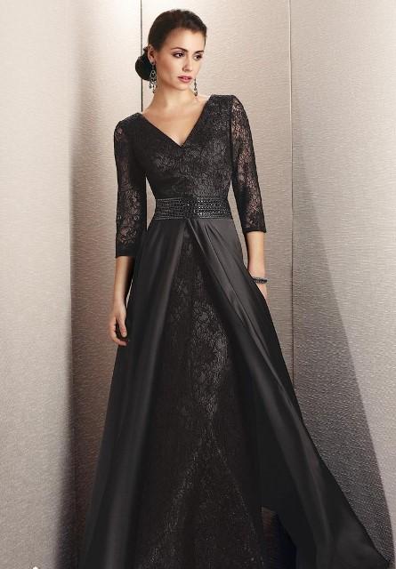 a8077dc4cd0a6 siyah abiye elbise modeli | En MODA Ne Var?