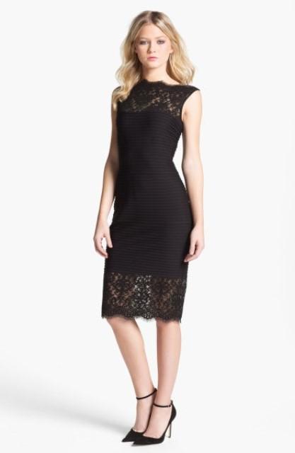 klasik dantel elbise