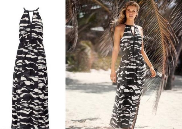 H&M uzun elbise