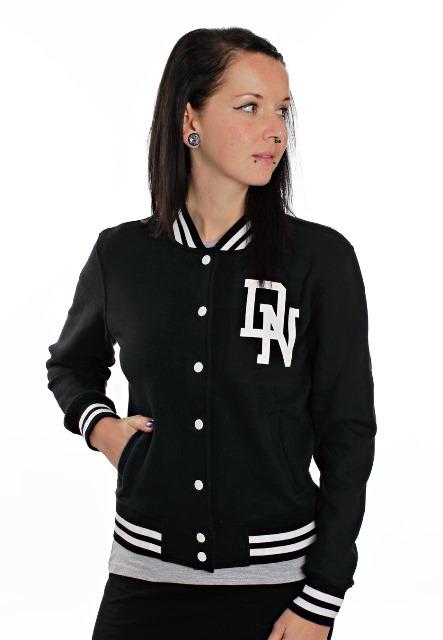 siyah kolej ceketi