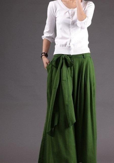 uzun pantolon etekler