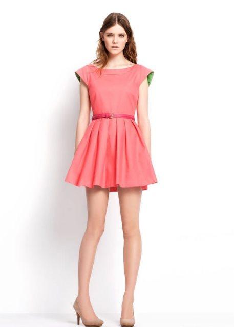 zara 2014 ilkbahar yaz koleksiyonu - zara elbise modeli