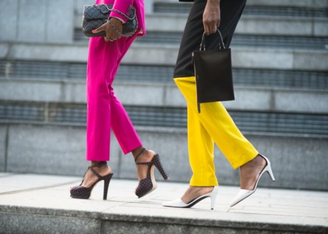 zara 2014 ilkbahar yaz koleksiyonu - zara renkli pantolon modeli