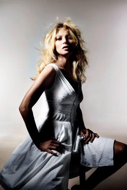 Kate Moss Topshop 2014 Yaz elbise modeli