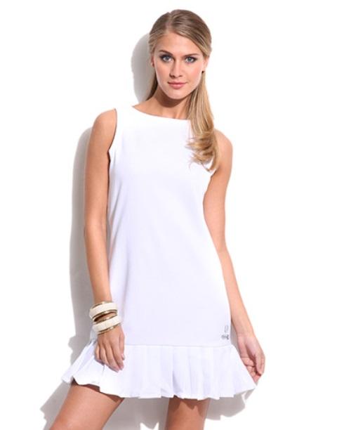 spor elbise - beyaz spor elbise