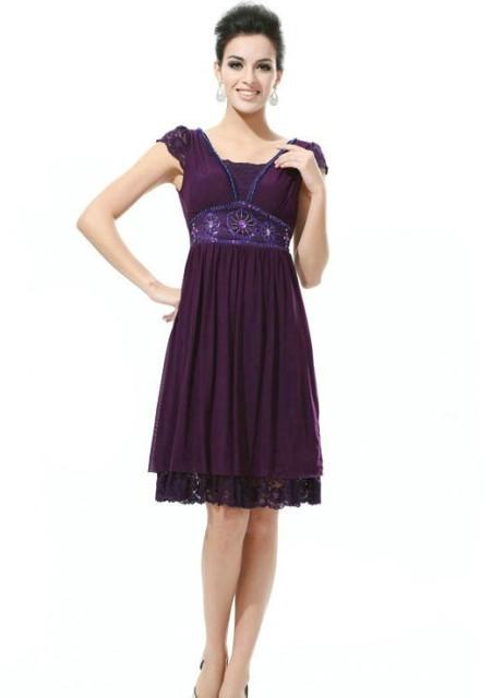 hamile abiye elbise modeli