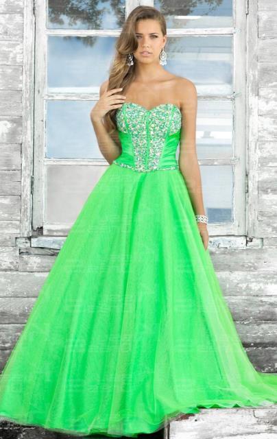 prenses abiye elbise modeli