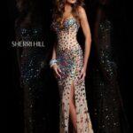 sherri hill gece elbisesi
