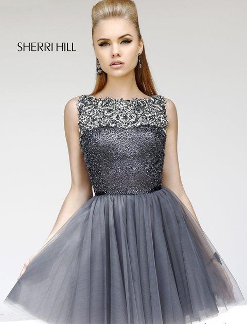 sherri hill kokteyl elbise modeli
