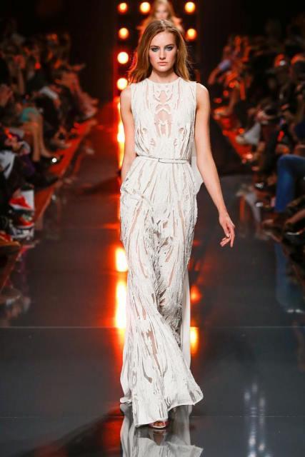 elie saab beyaz abiye elbise