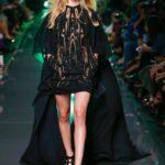 elise saab siyah abiye elbise