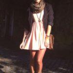 günlük kış için elbise kombinleri