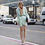 pastel elbise modeli