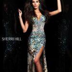 sherri hill abiye elbise
