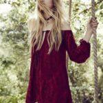 uzun dantel bluz