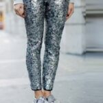 payetli pantolon kombini