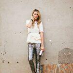 payetli pantolon modeli