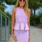 lila elbise modeli