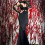2015 uzun abiye elbise modeli