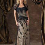 dantel bolerolu abiye elbise modelleri