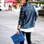 payetli blazer ceket modeli
